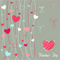 Hearts Valentine S Icons, Wallpaper Royalty Free Stock Image - 18037386