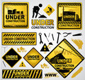 Under Construction Sign Stock Images - 18040434
