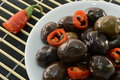 Spicy Olives Stock Image - 18069471