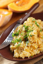 Pumpkin Risotto Royalty Free Stock Image - 18096466