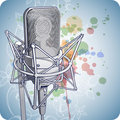 Professional Microphone Royalty Free Stock Photography - 18099047