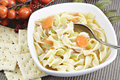 Homemade Chicken Noodle Soup Stock Photos - 18125443