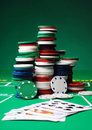 Poker Chips Stock Photography - 18134982