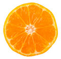 Slice Of Ripe Tangerine Stock Photos - 18140453