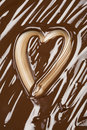 Chocolate Heart Stock Images - 18141194