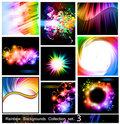 Rainbow Backgrounds Collection - Set 3 Stock Images - 18158634