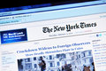 The New York Times Royalty Free Stock Photos - 18161588
