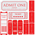 Tickets In Different Styles Royalty Free Stock Image - 18165936