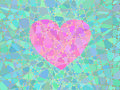 Heart Of The Mosaic Royalty Free Stock Photography - 18173897