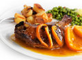 Duck With Orange Sauce Stock Photos - 18191453