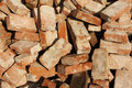 Pile Of Old Bricks Stock Photography - 18200412