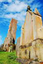 Old Church Tower And Graveyard Stock Photography - 18210242