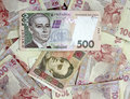 500 And 100 Ukrainian Hryvnia Stock Images - 18219954