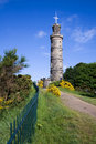 Nelson S Monument, Calton Hill, Edinburgh Stock Image - 18242301