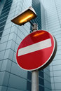 No Entry Sign Royalty Free Stock Photo - 18244135