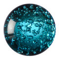 Glass Ball Of Blue Water Stock Images - 18255344