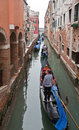 Channel In Venice With Gondolas Royalty Free Stock Image - 18279386