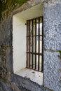 Old Jail Barred Windows At Angle Stock Photos - 18280303