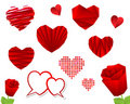 Valentine S Day Heart Collection Royalty Free Stock Photos - 18282638