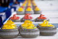 Curling Stones Royalty Free Stock Photography - 18289517