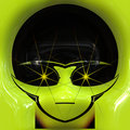 Alien Face Stock Images - 18293224