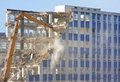 Building Demolition Royalty Free Stock Photography - 18296357