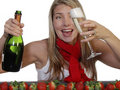 Champagne And Strawberries Royalty Free Stock Photography - 1831987