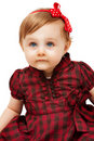 Beautiful Funny Little Girl With Blue Eyes Stock Photos - 18306773