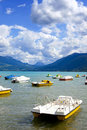 Annecy Lake Royalty Free Stock Photography - 18314127