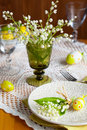 Easter Place-setting Royalty Free Stock Images - 18328609