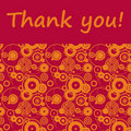 Thank You! Royalty Free Stock Photo - 18328645