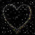 Heart Of The Starry Sky Stock Photography - 18328802