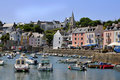 Port Of Sauzon At Belle Ile In France Stock Photo - 18329100