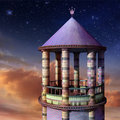 Rapunzel Tower Stock Photography - 18351572
