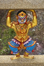 Thai Temple Sculpture Royalty Free Stock Image - 18354136