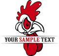 Rooster Head Stock Photography - 18357492