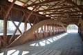 Inside Of Covered Bridge Stock Images - 18388444