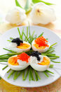 Eggs With Caviar Stock Photo - 18394730