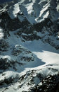 Steep, Snow-covered Mountainside Stock Photo - 1842060