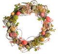 Easter Egg Wreath Royalty Free Stock Photography - 18400927