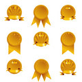 Golden Medals Stock Photography - 18405262