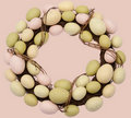 Easter Wreath Stock Image - 18432281