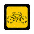 Bike Sign Royalty Free Stock Photography - 18445557