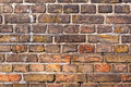Brick Wall Of An Old House Royalty Free Stock Photography - 18451017