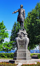 Monument To Peter The Great In Petrozavodsk Royalty Free Stock Photo - 18461205