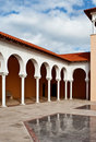 Patio In Spanish Style. Israel Royalty Free Stock Photography - 18483107