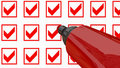 Red Marker Pen Stock Photography - 18499132