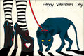 Valentine S Day Greeting Card Stock Images - 1855034