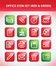 Office Icon Set Stock Images - 18535644