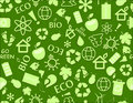 Go Green Eco Seamless Pattern Royalty Free Stock Photo - 18542115